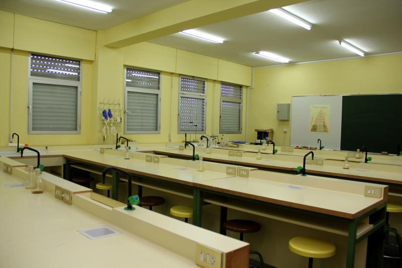 Aulas y laboratorios